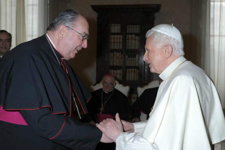 """Bishop DiLorenzo """"cheerfully did whatever the church asked of him,"""" Archbishop Lori says"""