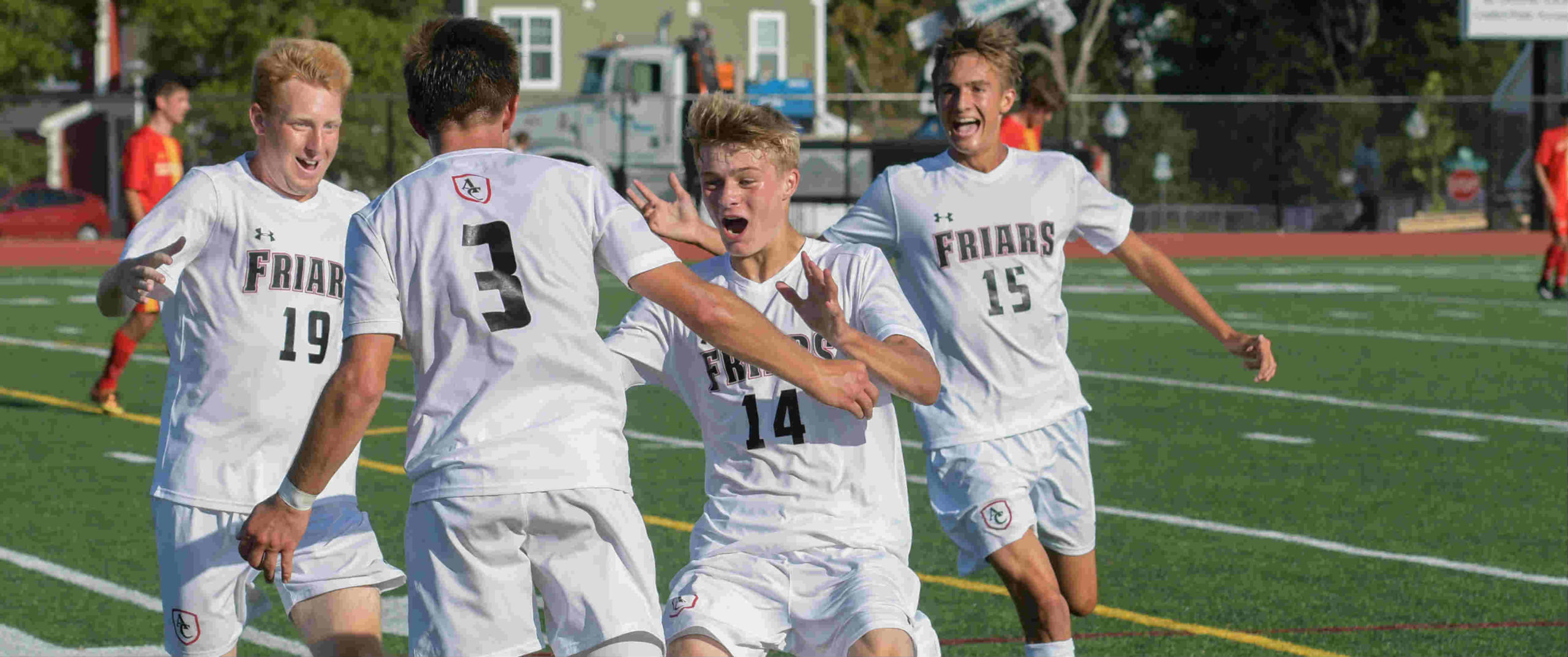 Curley soccer takes Reif Alumni Cup back from Calvert Hall