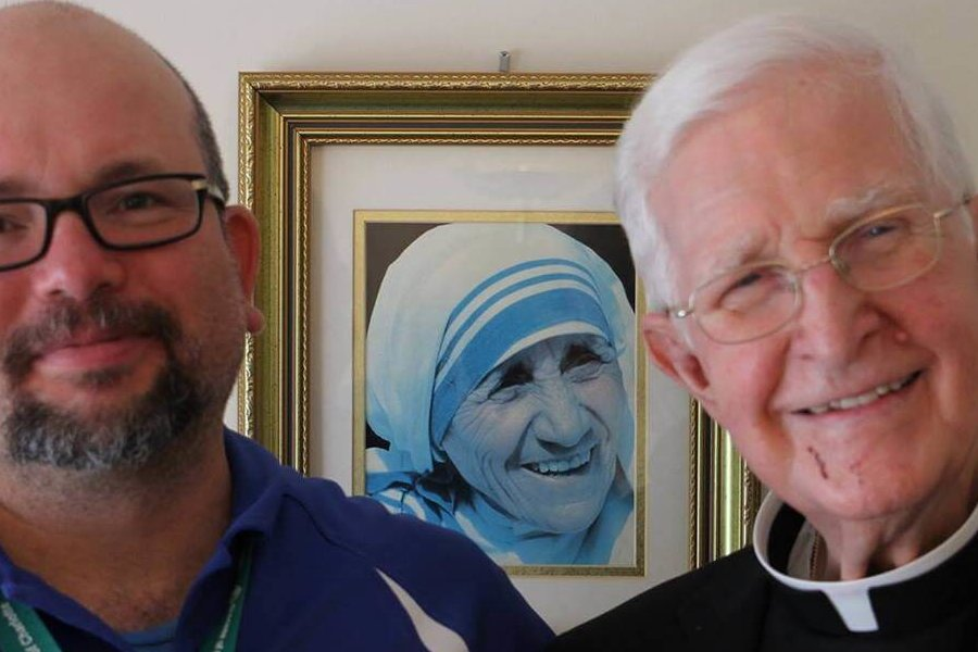 A saintly bishop and like a second father