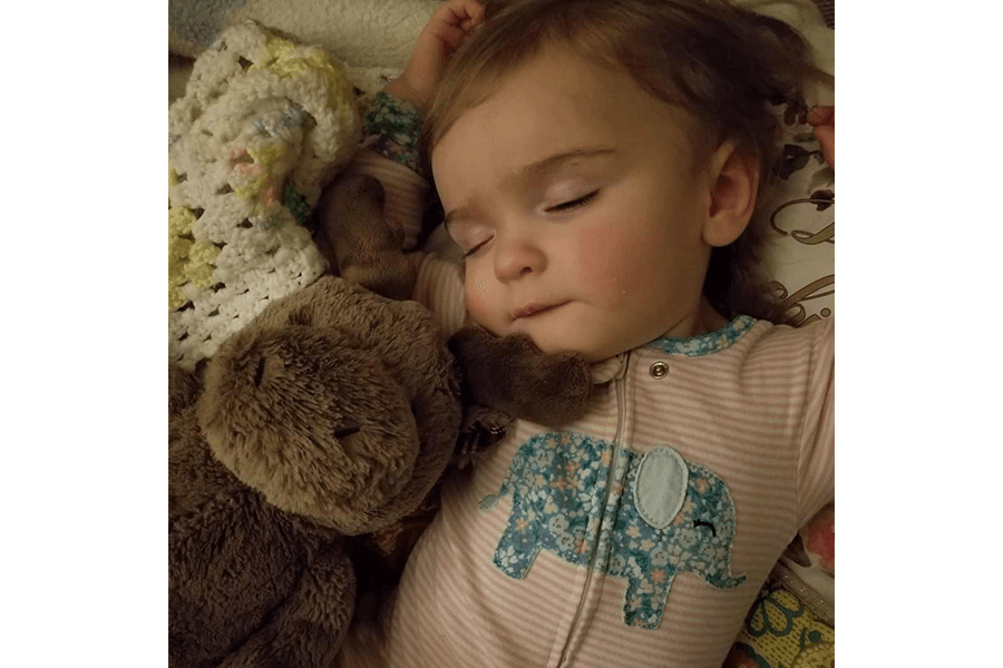A letter to my sleeping, mischievous baby