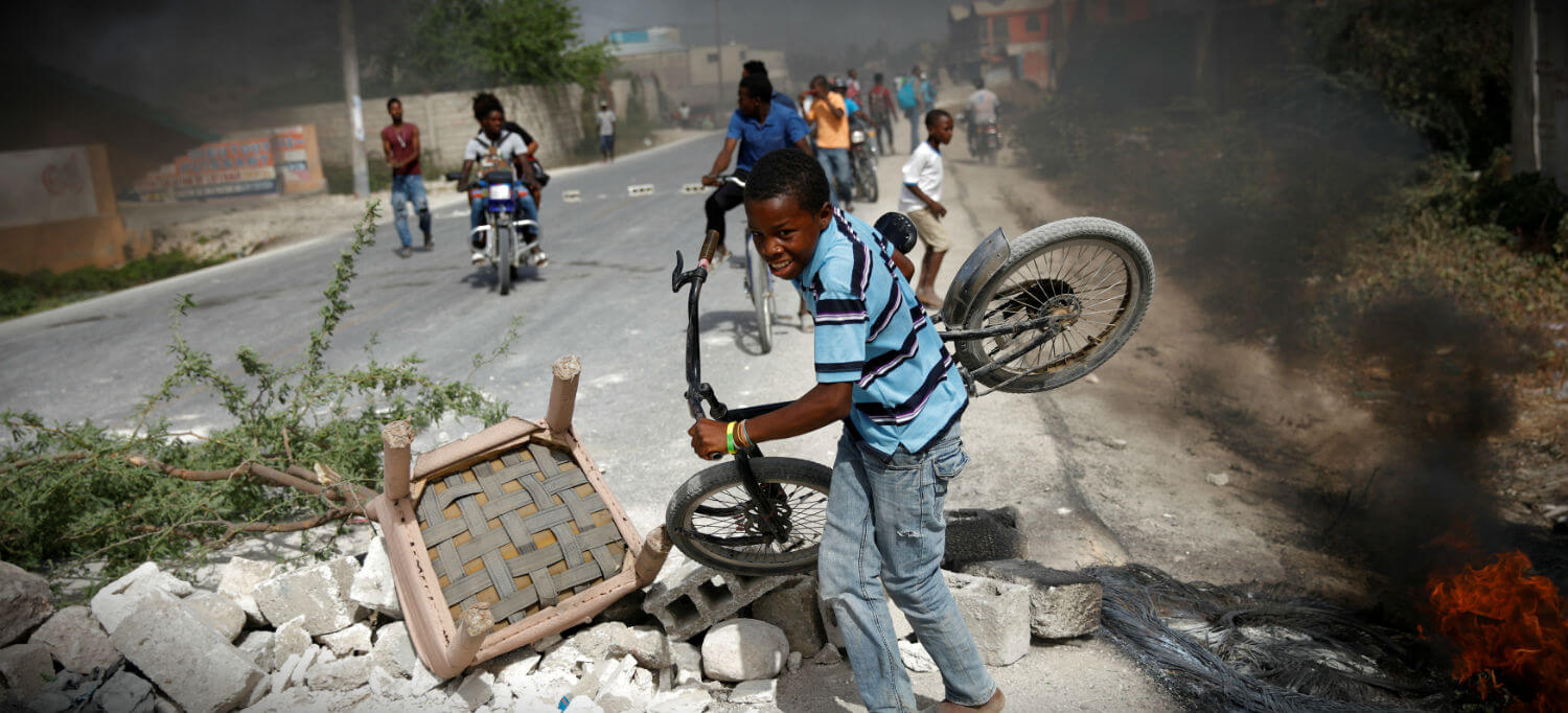 Unrest in Haiti delays return of youth mission to Baltimore Archdiocese