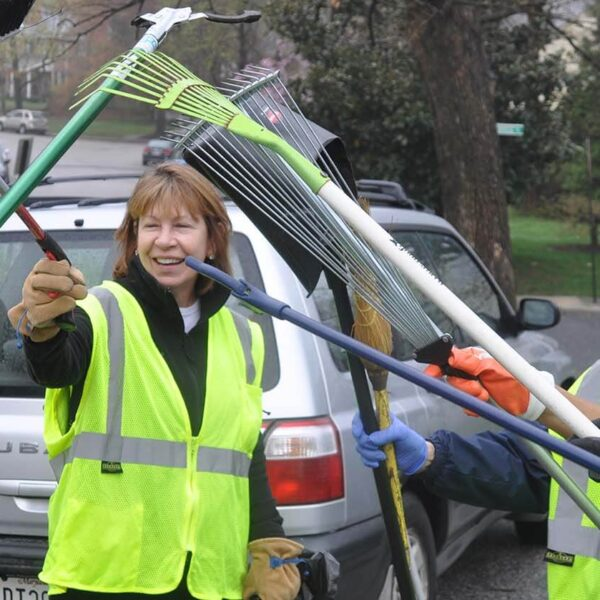 Spring cleaning with the 'Trash Bashers'