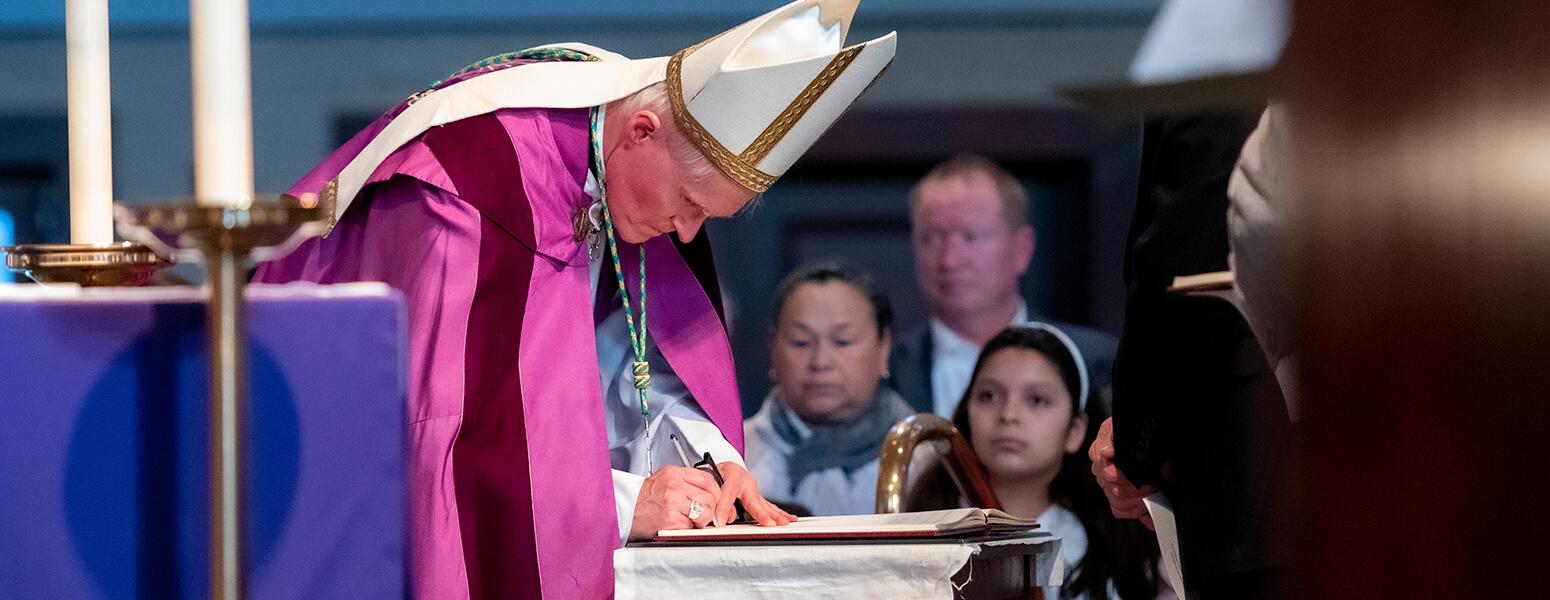 Bishop Brennan prepares to address issues in West Virginia
