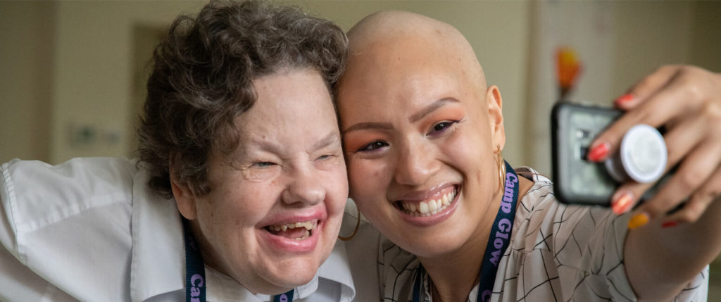 Camp GLOW smiles brighten Howard County parishioner's battle with cancer