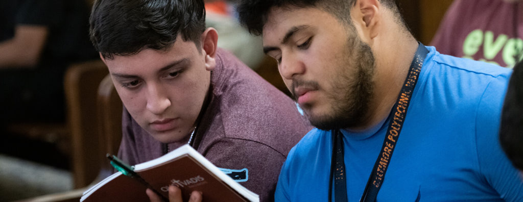 At Quo Vadis retreat, it's easy to meet 'new seminarian every day'