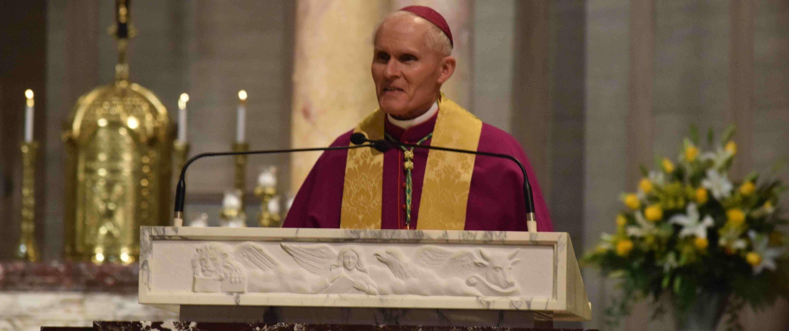 Bishop Brennan pledges to be 'good shepherd' for West Virginia