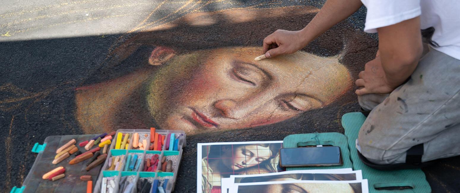 Madonnari Arts Festival revives chalk work with Renaissance roots