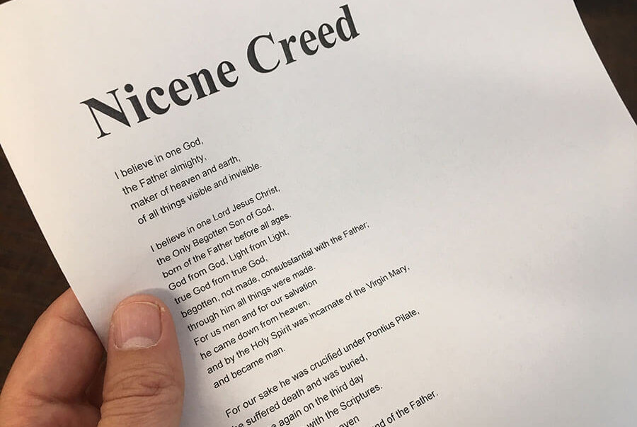Why can't I memorize the Nicene Creed?