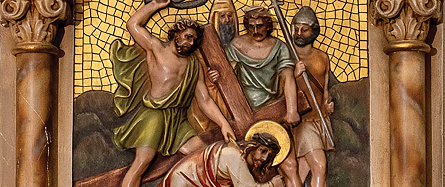 Stations of the Cross: Jesus' passion takes on particular resonance in time of crisis