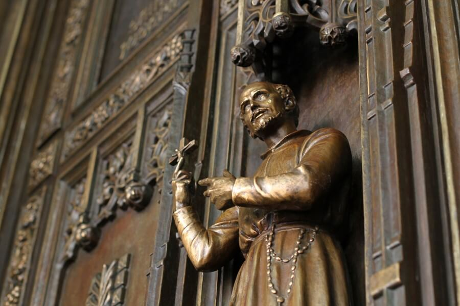 In the footsteps of St. Isaac Jogues