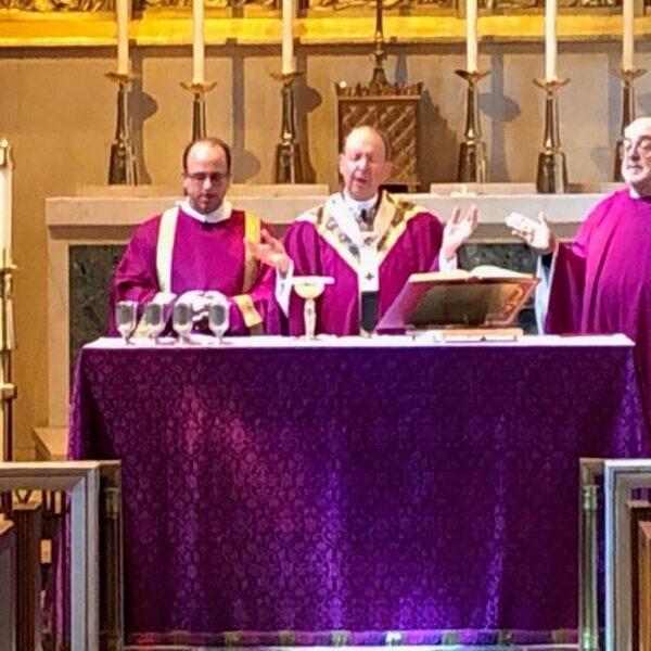 Archbishop Lori leads Mass in 'extraordinary times' for coronavirus