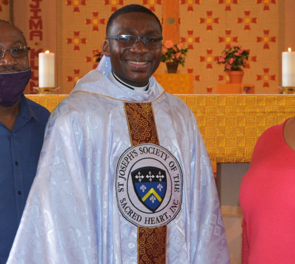Ugandan ordained a Josephite priest at the West Baltimore parish he served as deacon