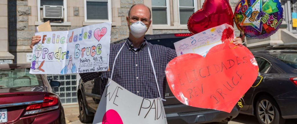 Baltimore parishioners overjoyed as they keep a pastor and gain a bishop