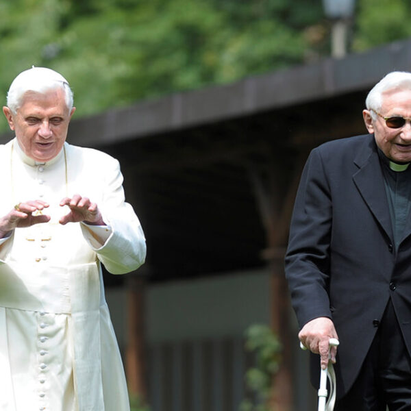 Monsignor Ratzinger, retired pope's brother, dies at 96