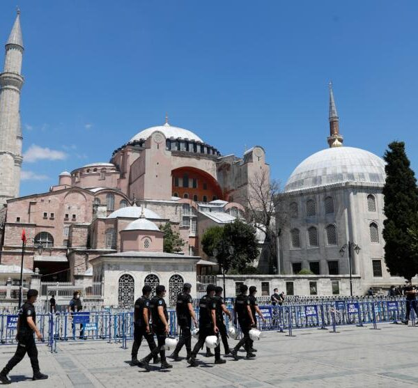 Pope, U.S. bishops 'saddened' by Turkish court ruling on Hagia Sophia