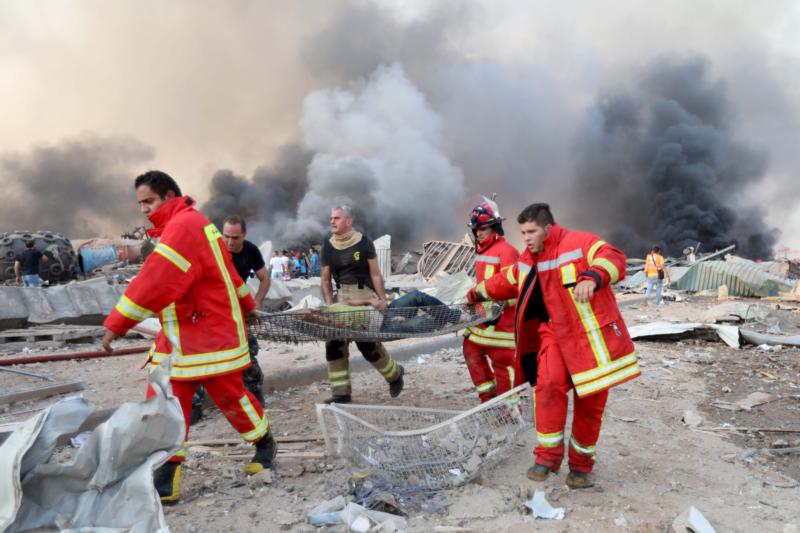 Catholic leaders call for prayers, help after massive Beirut blasts