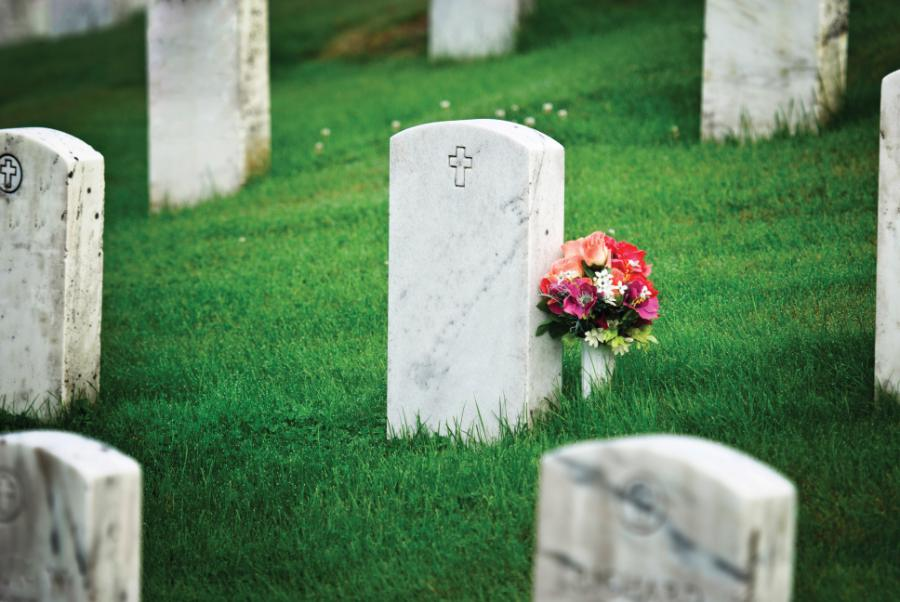Burial in non-Catholic cemetery/ Anxious as death draws near