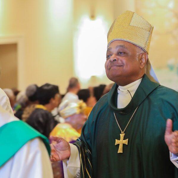 Prelate celebrates his first Mass as cardinal-designate at historic Maryland church