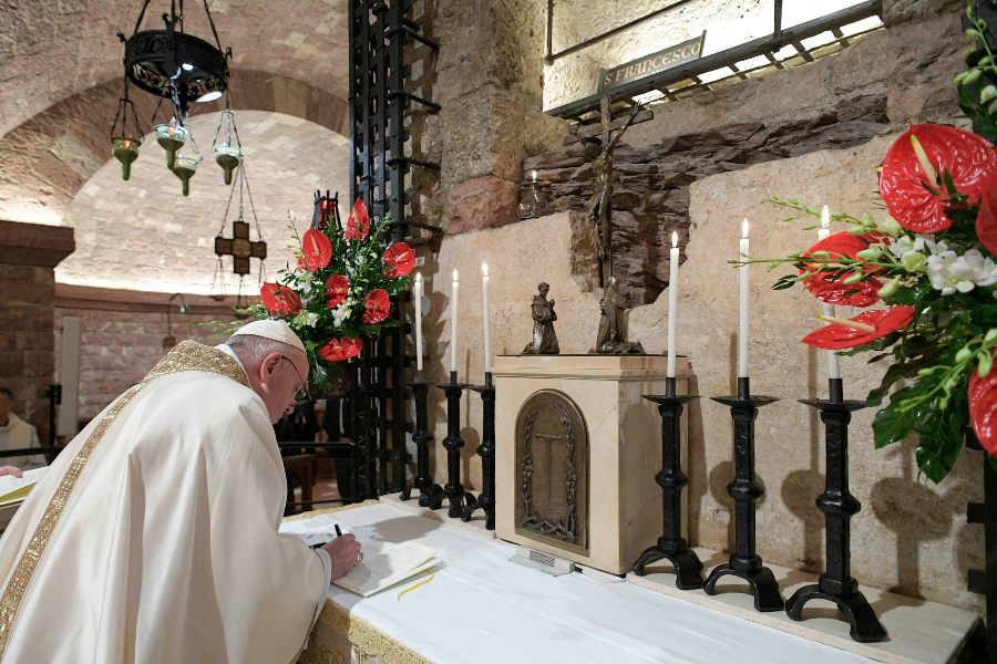 Belief in God as creator of all has practical consequences, pope says in new encyclical