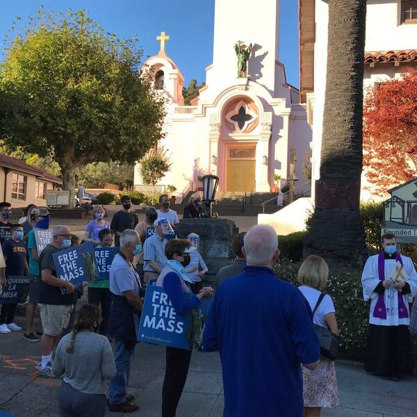 Archbishop Cordileone plans exorcism at church where Serra statue was toppled