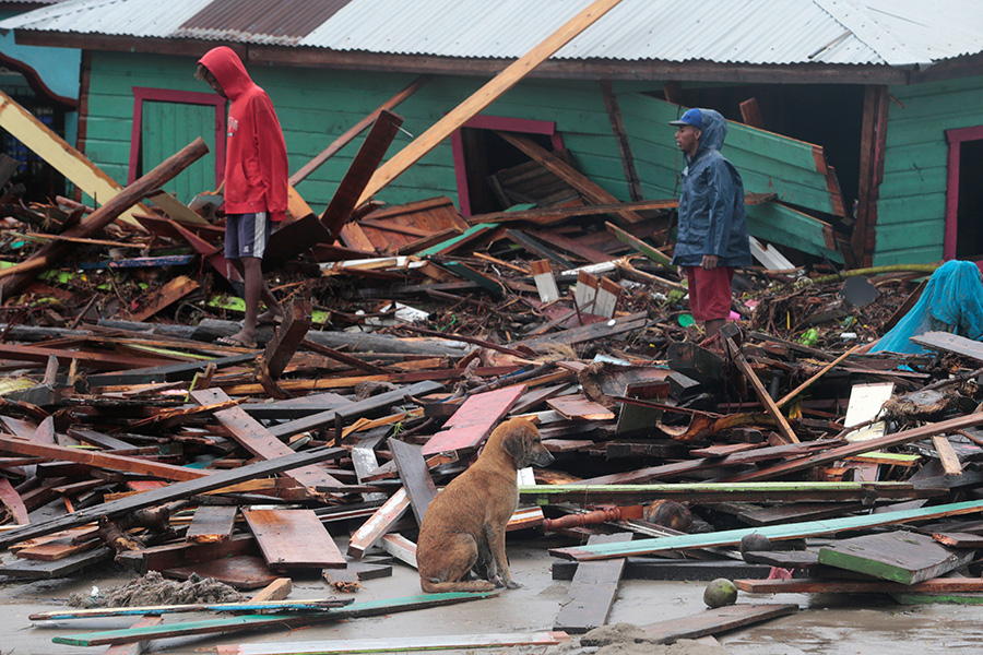 Local parishes launch relief efforts after two hurricanes devastate Central America