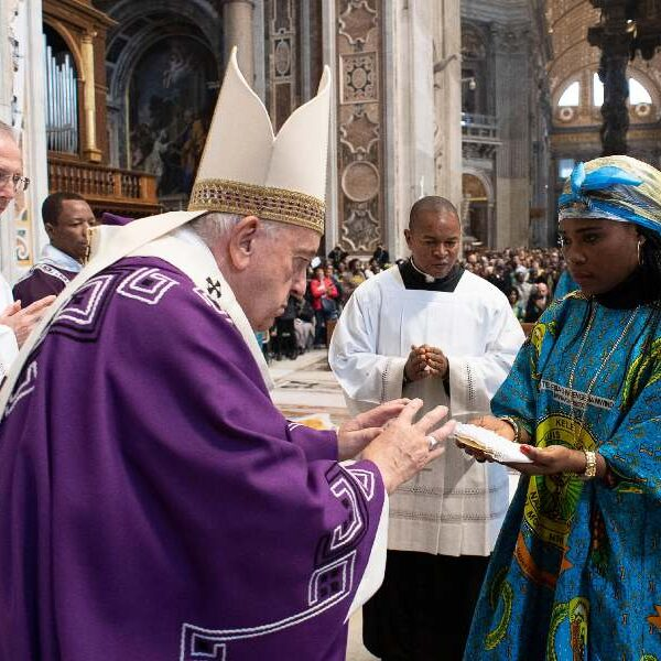Zairean rite offers example for developing an Amazonian rite, pope says