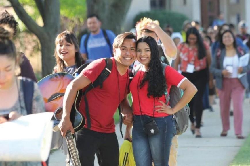 Fe y misión compartida juntan pareja joven