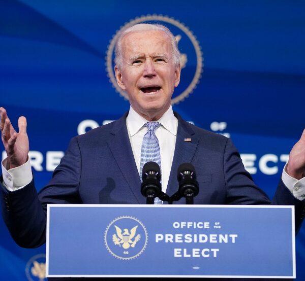 President Biden's top priority must be healing