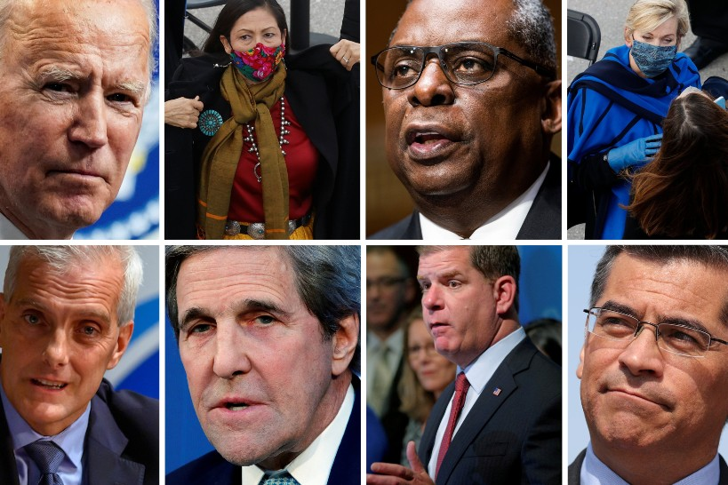 Nine Catholics nominated to Cabinet-level jobs in Biden administration