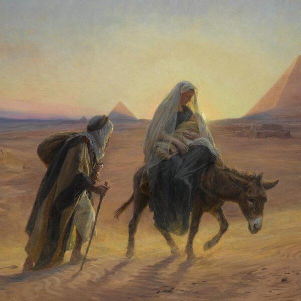 Christ 'descended into hell'/ Holy Family: Egypt or Nazareth?