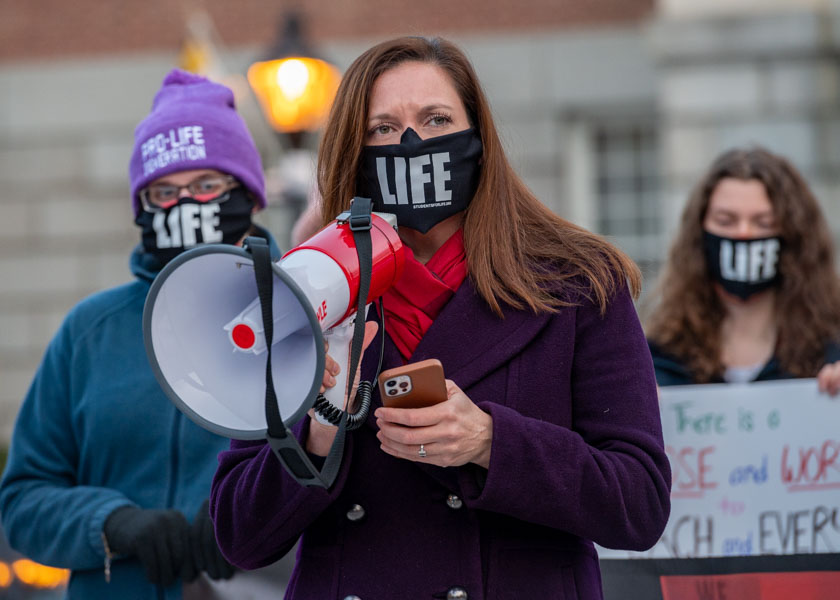 Numbers, but not spirit, muted at Maryland March for Life