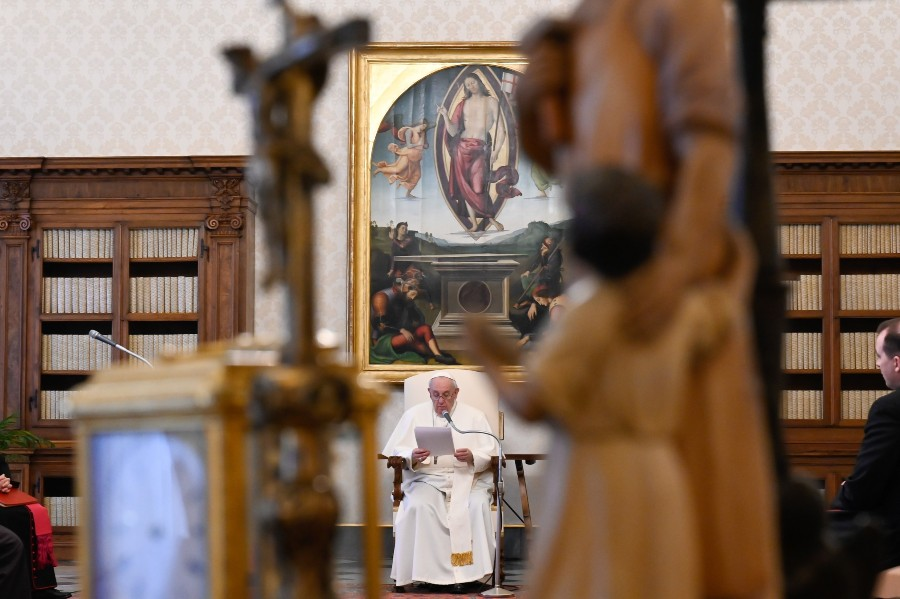 Christianity without liturgy is absent of Christ, pope says