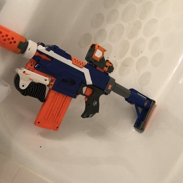 Pandemic Stories (or why there's a Nerf gun in the tub)