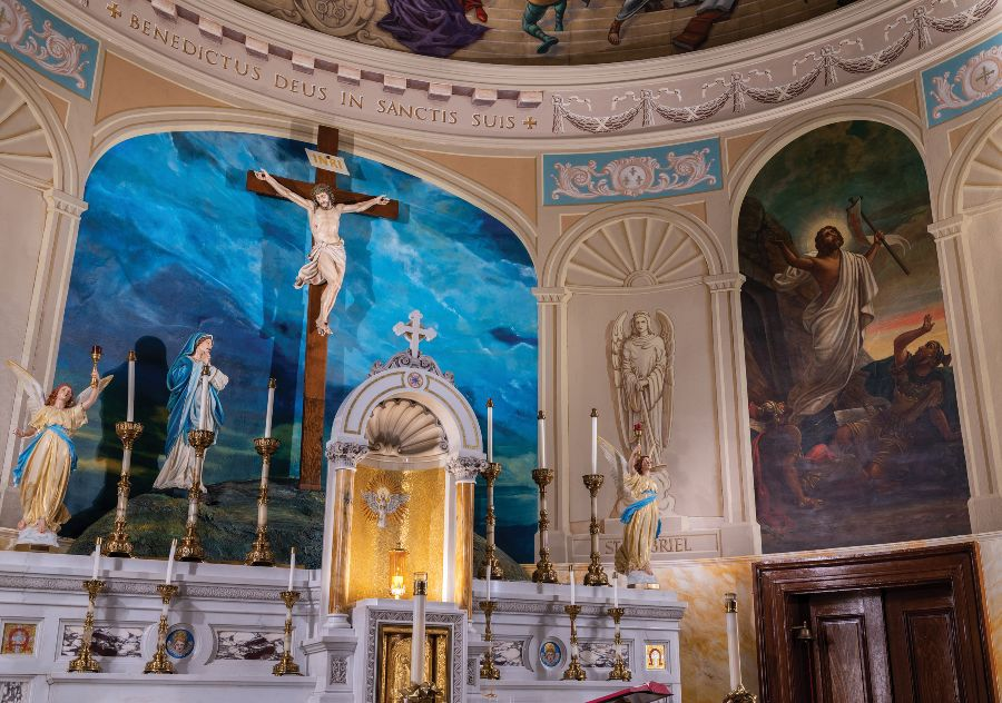 Beauty Resurrected: St. Leo the Great puts murals in new, improved light