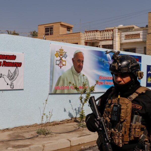 'Finally,' pope says he will be able to make pilgrimage to Iraq