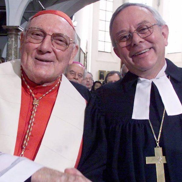 Cardinal Cassidy, Vatican's former top ecumenist, dies at 96