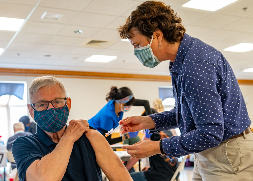 St. Ignatius, Hickory, answers call as COVID vaccination clinic