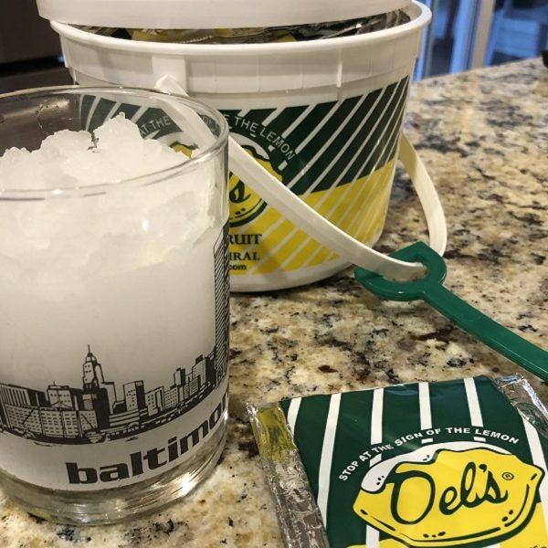When life gives you frozen lemonade…