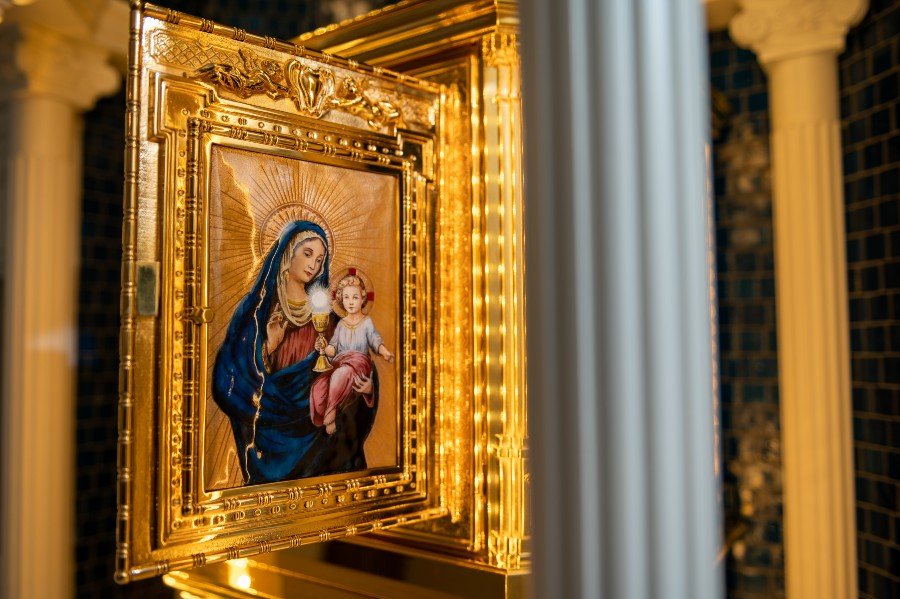Baltimore Basilica prepares for perpetual adoration inside chapel named for St. John Paul II