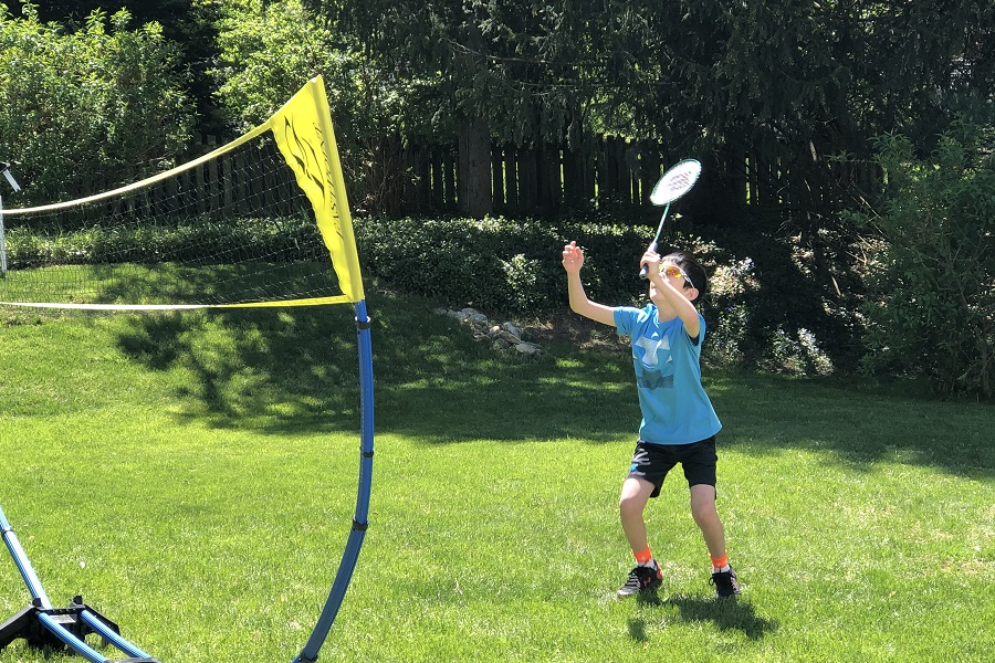 Badminton and counting down to summertime (7 Quick Takes)