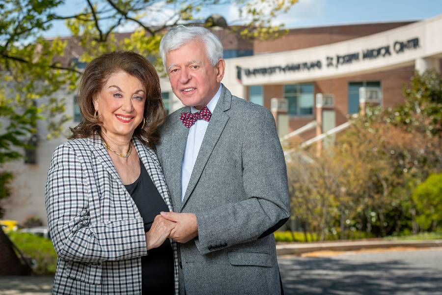 Sandra and Malcolm Berman donate to support University of Maryland St. Joseph Medical Center's Heart Institute