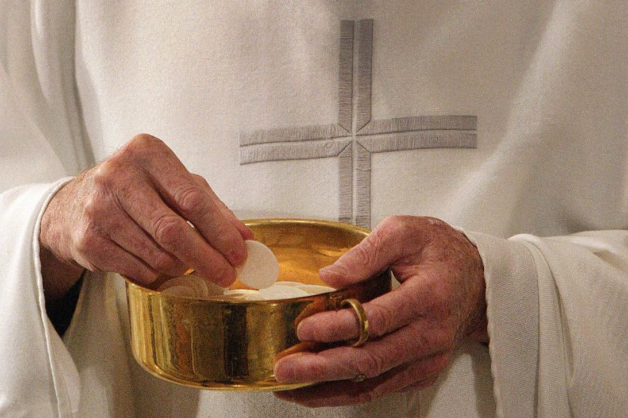 Archbishop Lori says bishops' pastoral document on Eucharist will serve as foundation of eucharistic revival