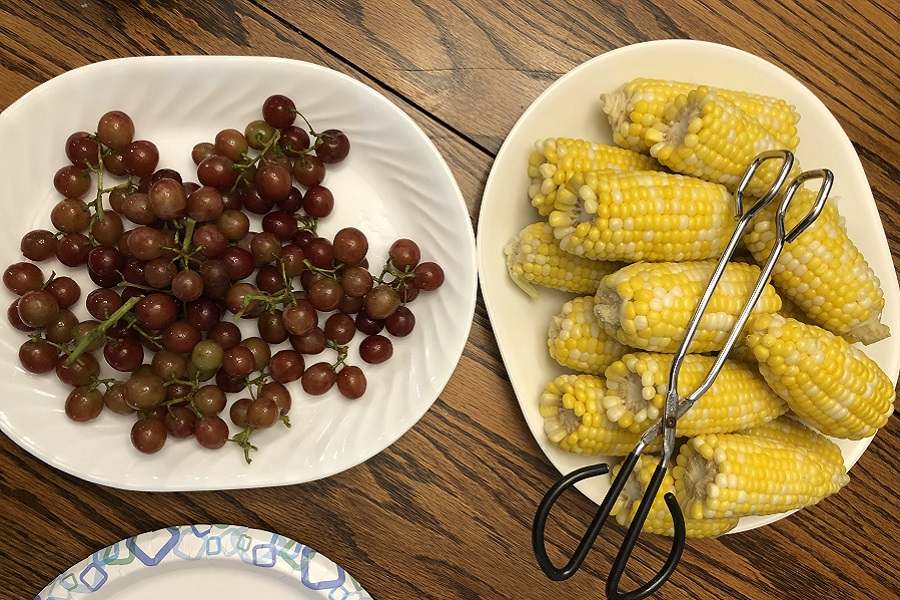 Serving platters, books, a broken fridge, and other excitement (7 Quick Takes)