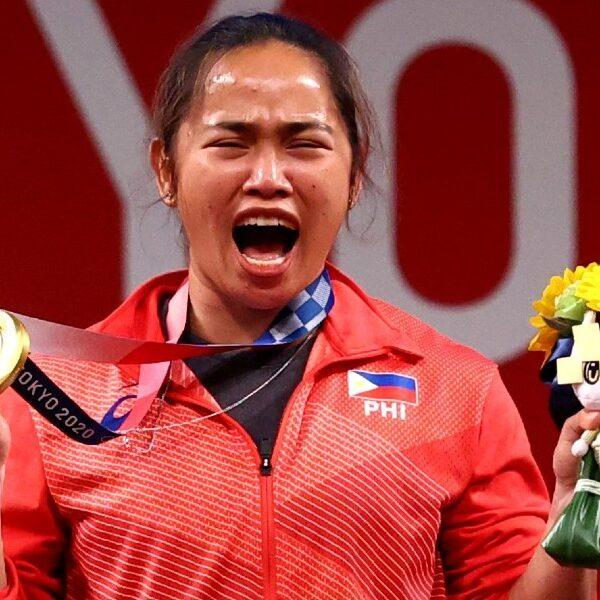 Philippine weightlifter credits her Olympic success to her faith