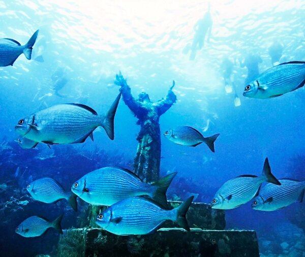 Into the deep: Scuba-diving faithful honor Christ underwater