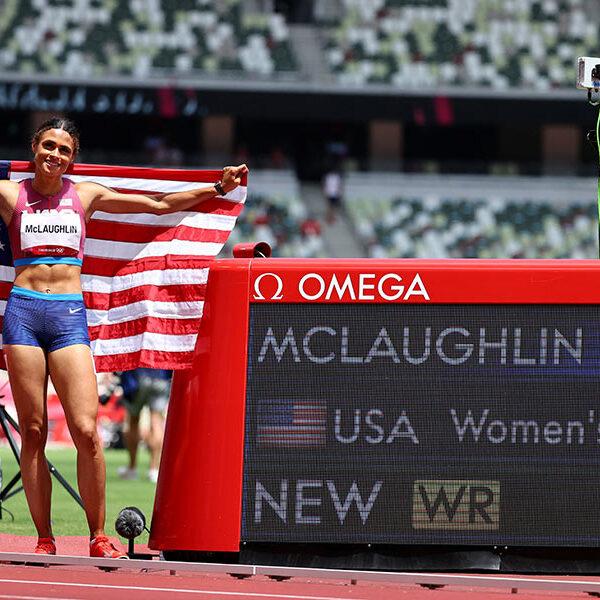 N.J. Catholic high school alum breaks world record to win 400m hurdle gold