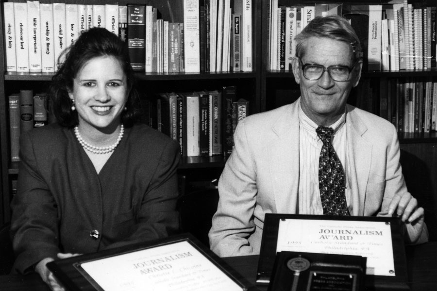 Lou Baldwin, Catholic journalist for 35 years, dies at 86
