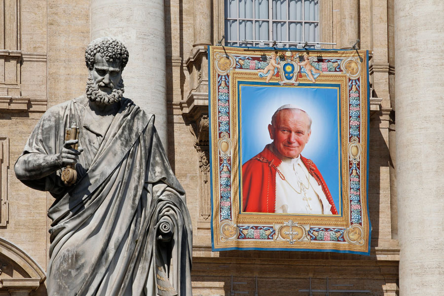Saintly popes: People question whether canonizing popes is a good idea